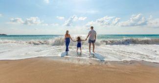 Kelionė su vaikais prie jūros